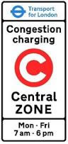 Congestion Charge: Monday - Friday, 7am - 6pm
