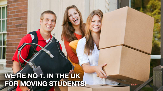 We're number 1 in the UK for moving students